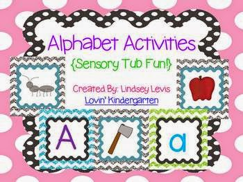 http://www.teacherspayteachers.com/Product/Alphabet-Letters-and-Sounds-Sensory-Tub-Activities-765137
