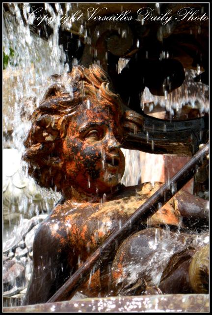 Cherub fountain Mansart Versailles