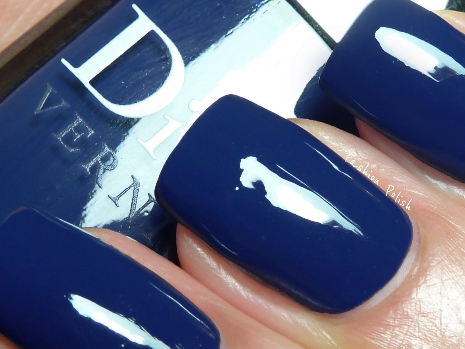 Fashion Polish: Dior Blue Denim, Fall 2011 Blue Tie Collection ...