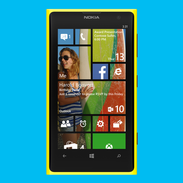 Windows Phone 8.1 Start Screen / Wallpapers