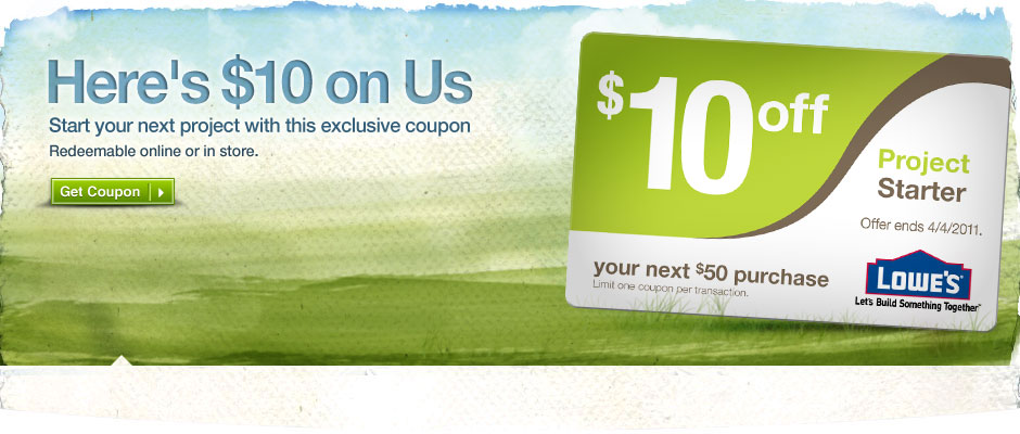 10 coupon lowest