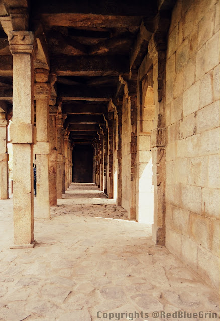 A historical building at Kutub Minar, Delhi, India