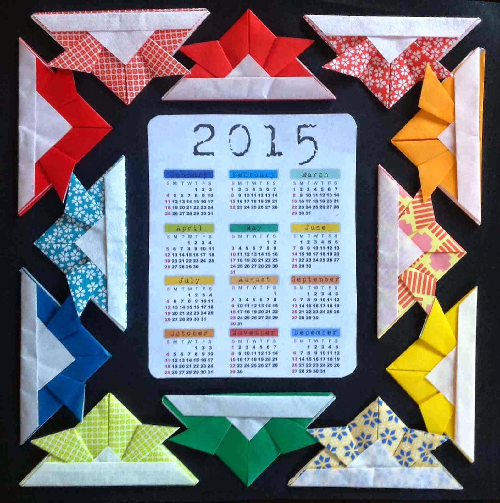 New Year Calendar Craft : Create art with mrs p happy new year a calendar idea