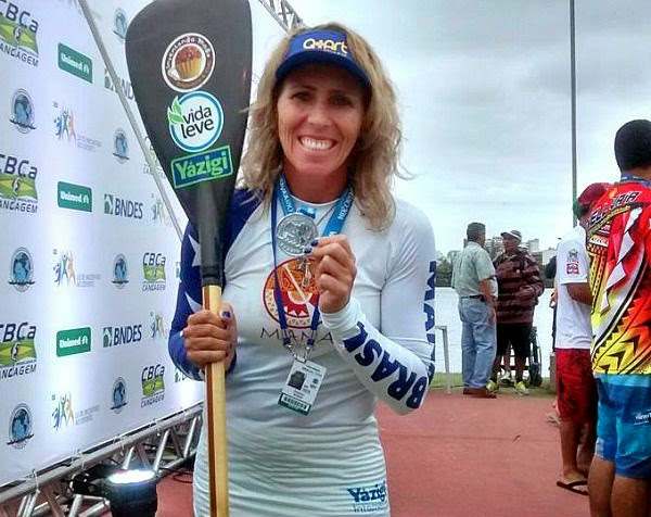 Atleta de Cabo Frio fica entre os primeiros colocados no mundial de canoagem