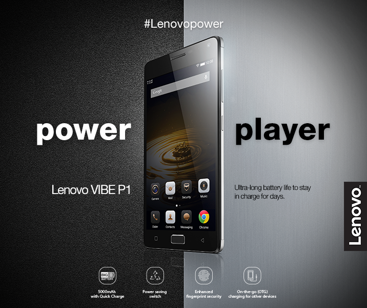 Lenovo VIBE P1: Specs, Price and Availability