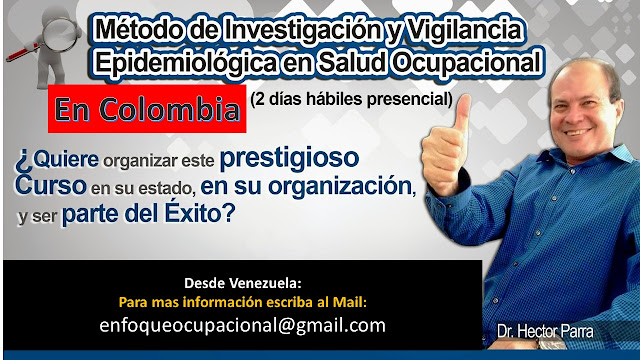 Curso, Vigilancia, Epidemiologica, Salud, Laboral, Colombia