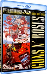 Guns N' Roses: Appetite for Democracy 3D Blu-ray