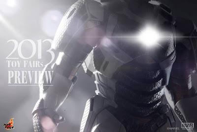 "Hot Toys 1/6 Scale Iron Man 3 12"" Iron Man Mark XXXIX Gemini Armor Figure (teaser)"