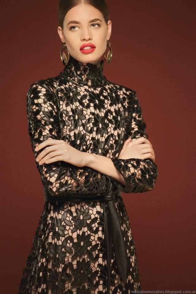 Maria Cher otoño invierno 2016. Moda otoño invierno 2016 casual chic vestidos.