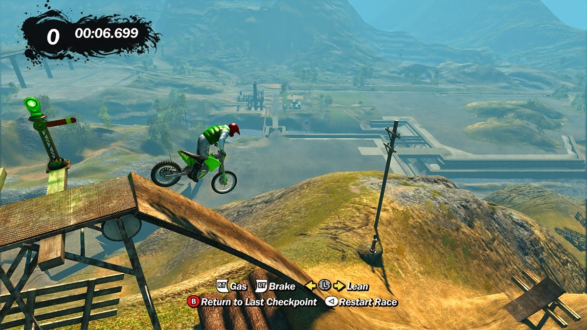Trials Evolution Gold Edition on the Alienware 17 with settings maxed out