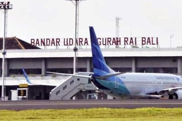 Garuda Indonesia di Bandara Ngurah Rai, Denpasar, Bali. ZonaAero