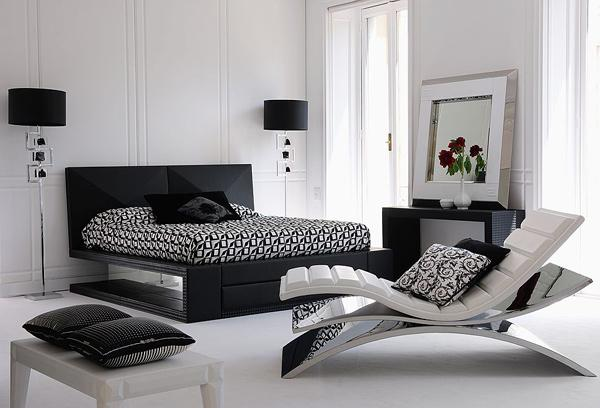 Black And White Looks Gorgeous With Steel Colors Like Chrome Silver Any Bright Color Just Adds To The Drama Depth Decor