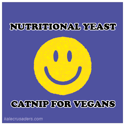 Nutirtional Yeast: Catnip for vegans; NoochVEMBER, NOOCHvember, #NOOCHvember, Nutritional Yeast November, Nooch November