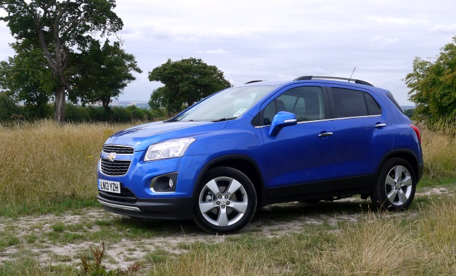 Chevrolet Trax front side view