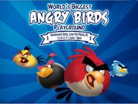 """Taman Angry Birds """" Resmi """" Buka Tahun 2012"""