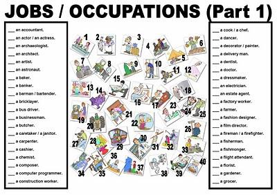 Activities To Do With Kids On Jobs In School