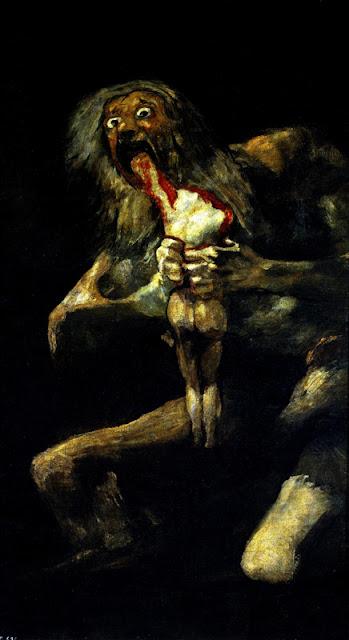 Goya, Saturne dévorant son fils