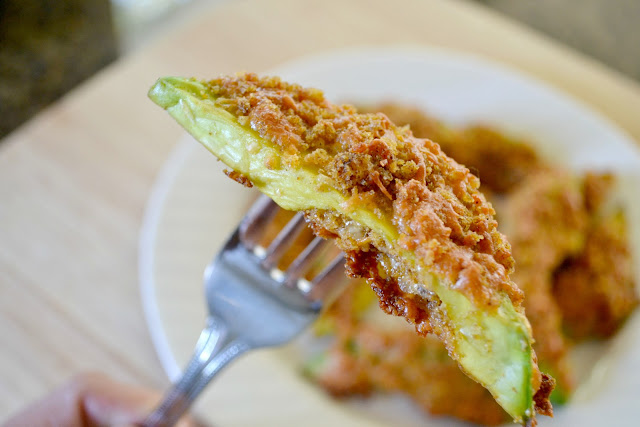 Mommy Testers easy baked avocado fries recipe with #FreshTake #cbias