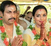 Shweta Menon got married with Sreevalsan Menon