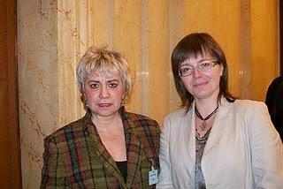*Morgane BRAVO & Mme. Sidonia JEDRZEJEWSKA, Députée Européenne*