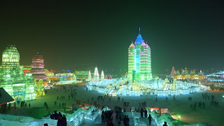 фото ледового городка