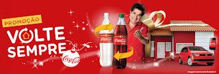 """Promoção """"Volte Sempre  Coca-Cola"""""""