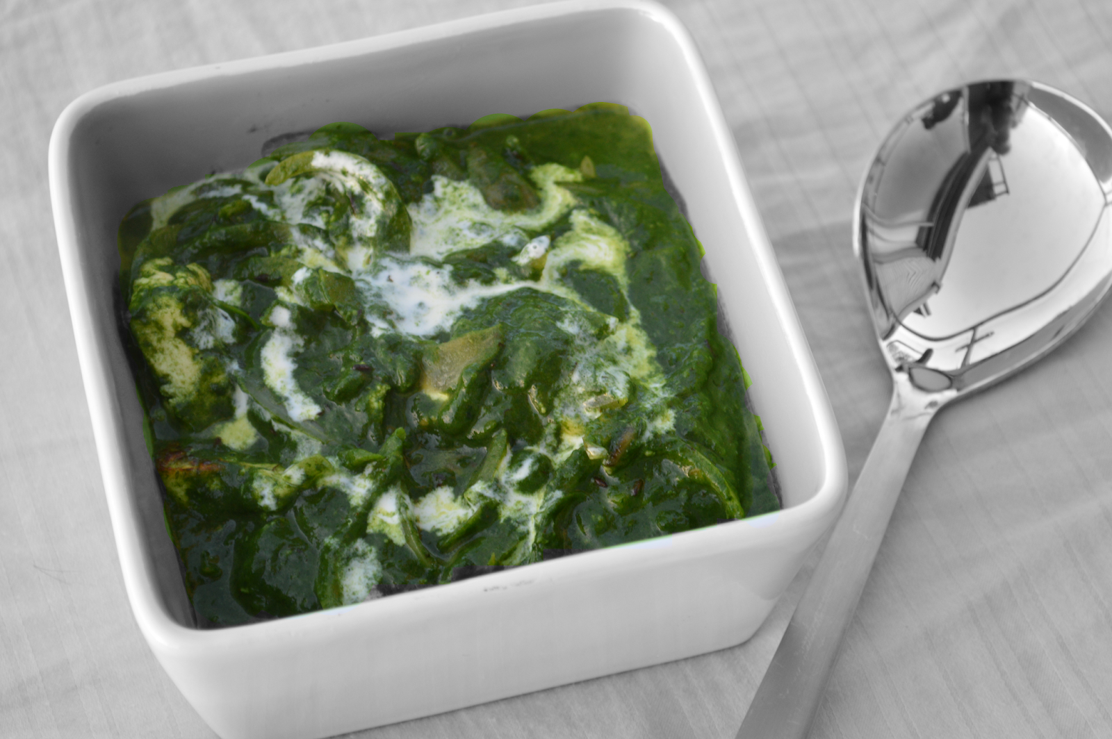 Palak Paneer/ Spinach and Cottage cheese