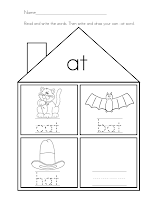 math worksheet : mrs ricca s kindergarten literacy worksheets freebies : Word Families Worksheets For Kindergarten