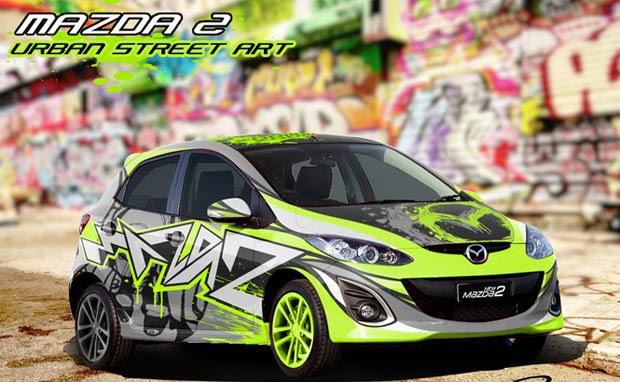 Mazda 2 stickers mazda 2 modification mazda 2 city car mazda sport car
