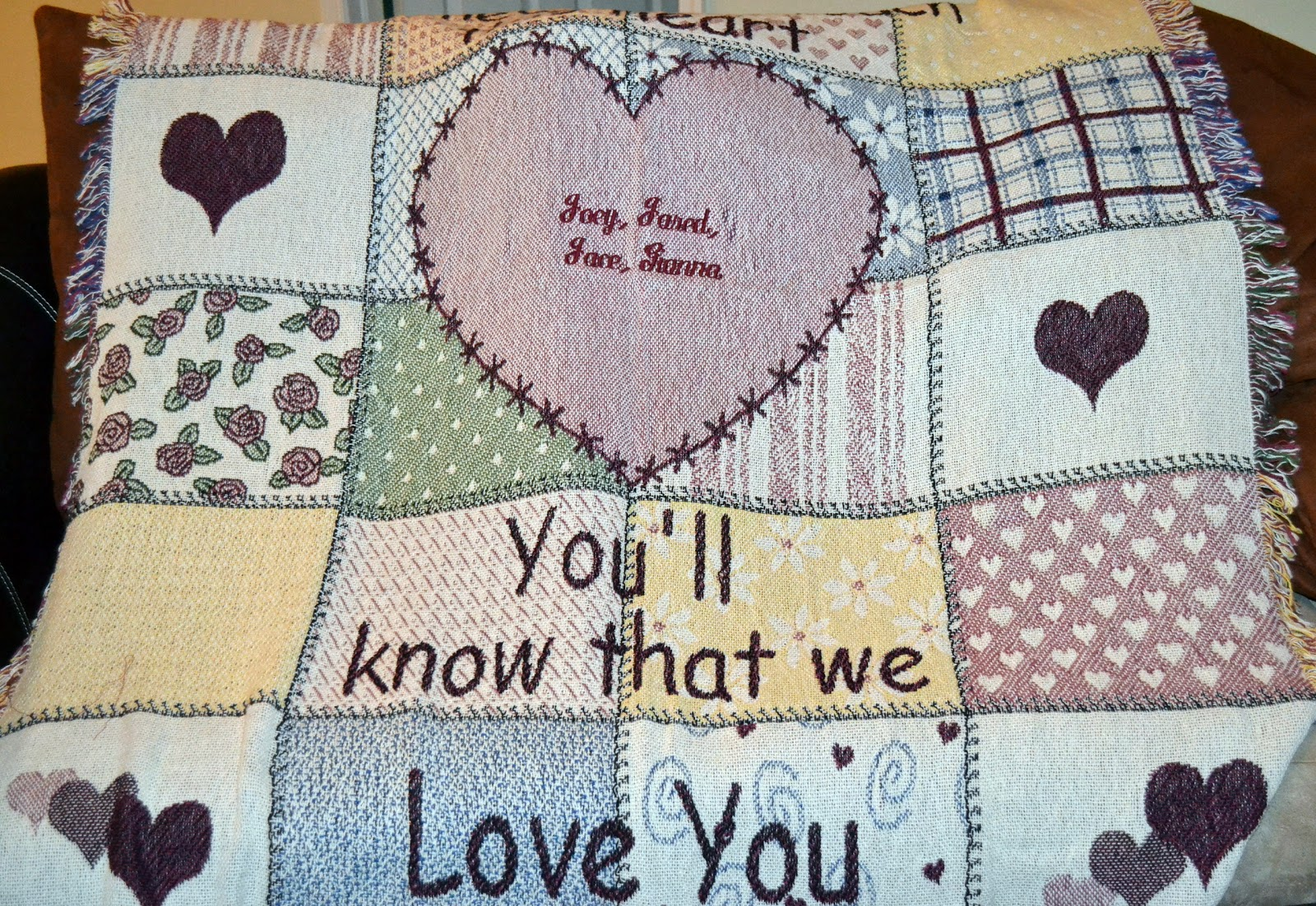 personalized blankets for grandma custom fleece blankets