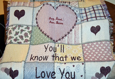 Personalized Throw, blanket