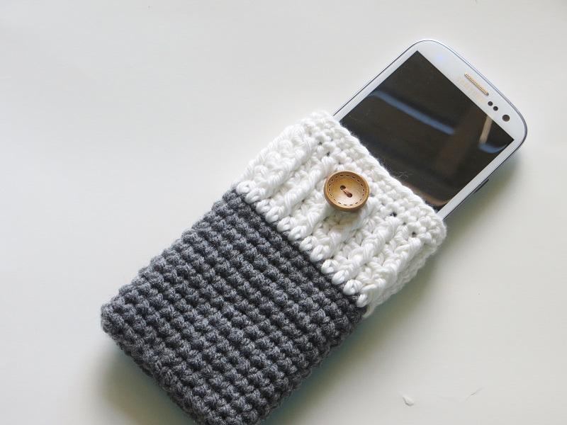 Free Crochet Pattern Phone Case : Crochet Dreamz: Mobile Phone Cozy or Case Crochet Pattern ...