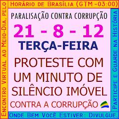 6ª PARALISAÇÃO CONTRA CORRUPÇÃO