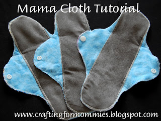Mama cloth liner tutorial