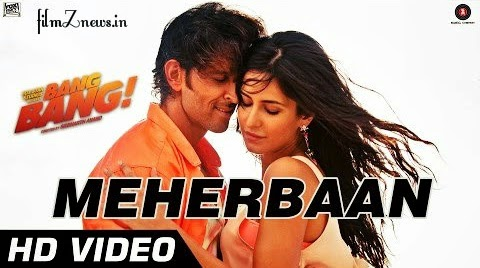 Meherbaan - Video Song from Bang Bang - feat Hrithik Roshan & Katrina Kaif | Vishal Shekhar