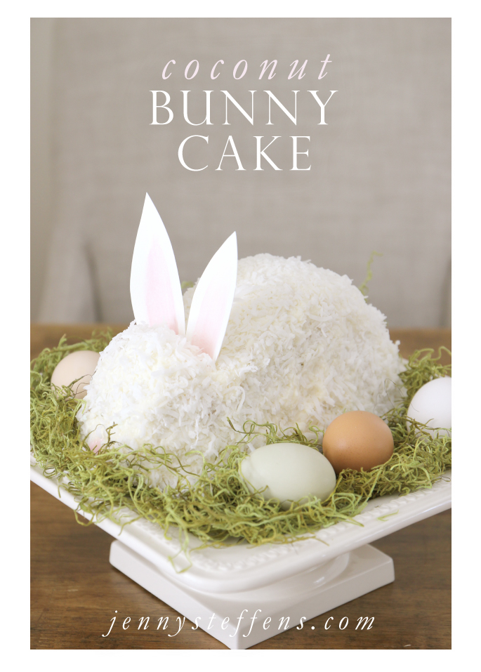 Jenny Steffens Hobick Easter Bunny Cake Continuing