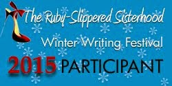 Ruvy-Slippered Sisterhood Winter Writing Festival Badge