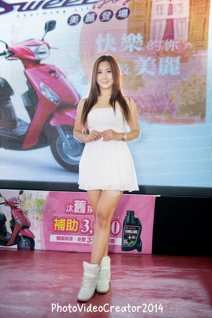2015 1/25 高雄夢時代 台灣山葉機車 YAMAHA Jog Sweet 新車發表會