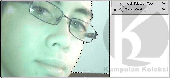 Cara Seleksi Gambar Pada Photoshop