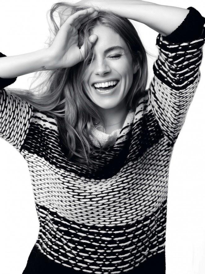 Caroll Paris Fall/Winter 2014 Campaign featuring Sienna Miller