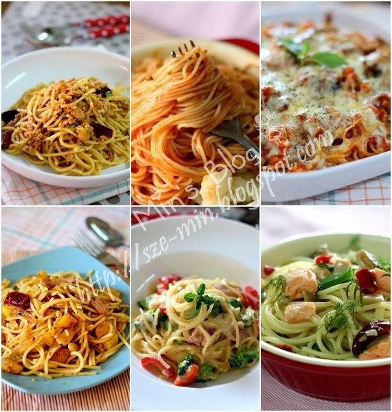 6个简易意大利面食谱 Easy Pasta Recipes