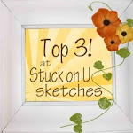 I made Top 3 at Stuck on U Sketches