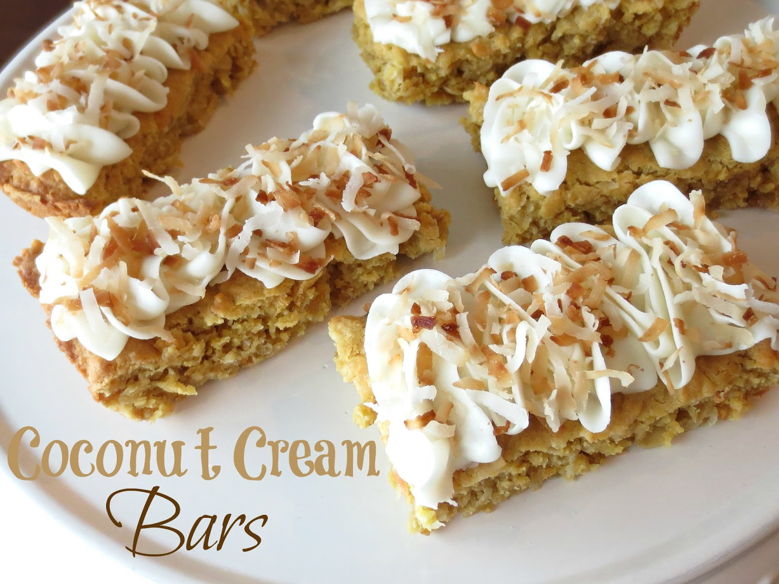 Kaitlin in the Kitchen: Coconut Cream Bars