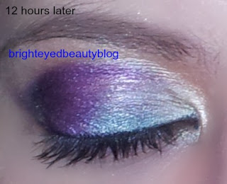 Tropical Blue and Purple Coastal Scents Eye Look