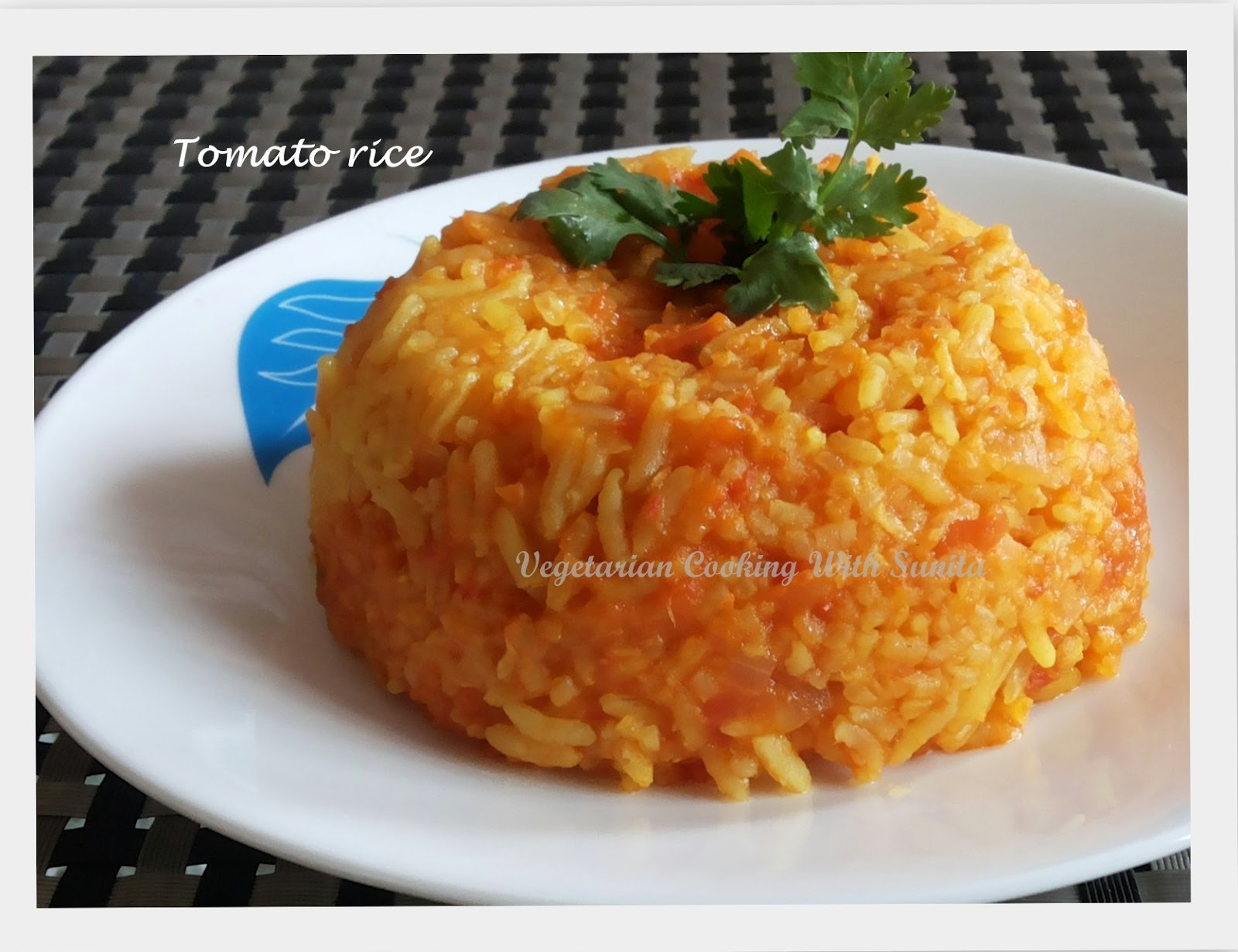 how to make tomato rice south indian