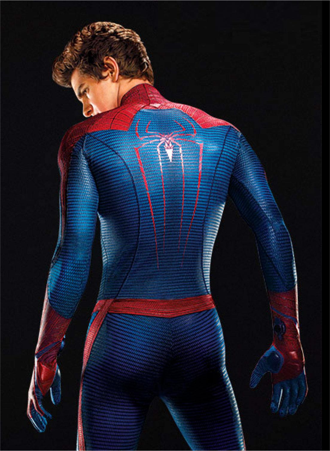 SeamusDuff: Andrew Garfield: The Amazing Naked Spider-Man