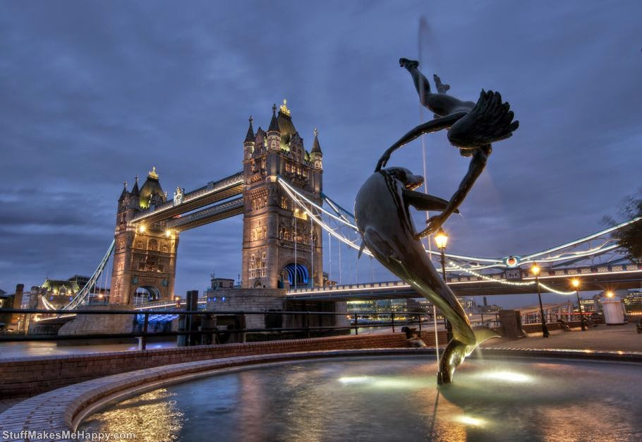 8th place - United Kingdom, visited by 31.2 million tourists. (Photo by JH Images.co.uk)