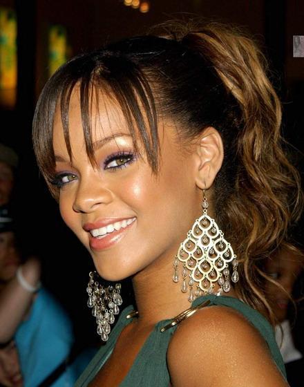 Rihanna con bella sonrisa