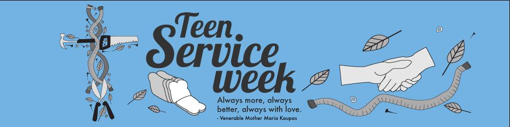 Teen Service Week
