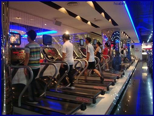 Phòng tập Gym chất lượng cao